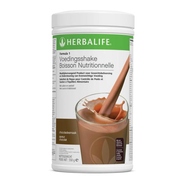 Herbalife Formula 1 voedingsshake chocolade smaak - 550 gram