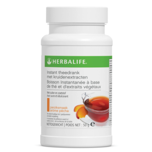 Herbalife instant theedrank met kruiden extracten perzik smaak - 50 gram