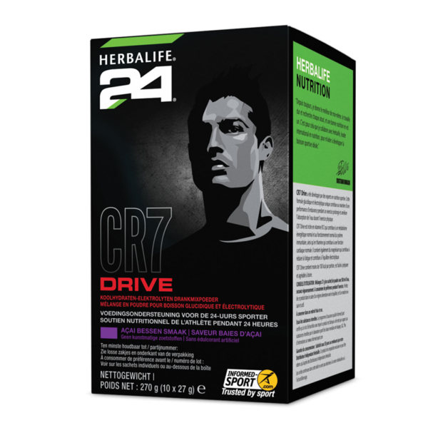 Herbalife 24 CR7 drive - 10 zakjes á 27 gram