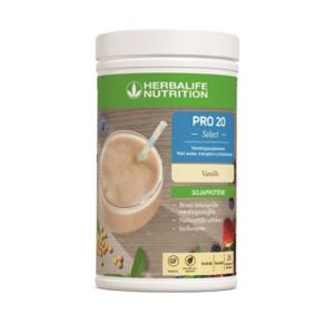 Herbalife Pro 20 Select suikervrije shake vanille smaak - 640 gram