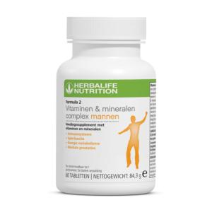 Herbalife Formula 2 vitamine en mineralen complex voor mannen - 60 tabletten