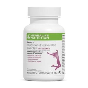 Herbalife Formula 2 vitamine en mineralen complex voor vrouwen - 60 tabletten