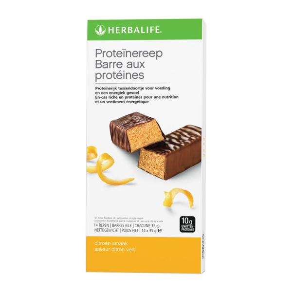 Herbalife Proteïnereep citroen smaak - 14 repen